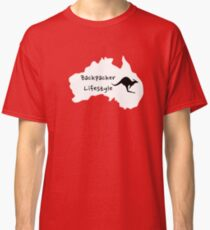 Backpacker Lifestyle Classic T-Shirt
