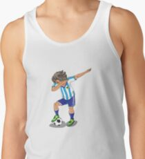Argentine football player Dab Argentina Tank Top