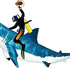 Shark Rodeo by Chris Singley