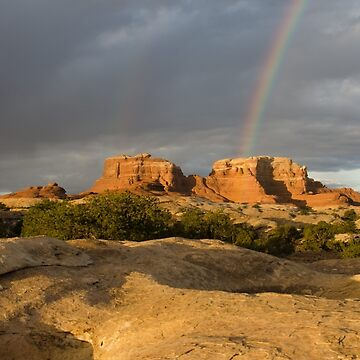 Morning Rainbow by harmoniccontent