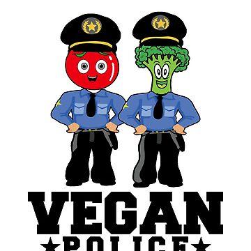 Vegan Police by Mojo23