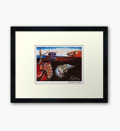 Salvador Dalek Framed Print