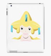 Jirachi Pokemon Simple No Borders iPad Case/Skin