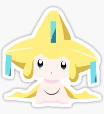 Jirachi Pokemon Simple No Borders Sticker