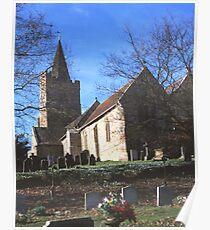 St. Mary`s Church, Lamberhurst, Kent Poster