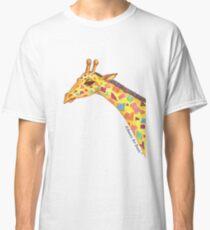 Giraffe art print Classic T-Shirt
