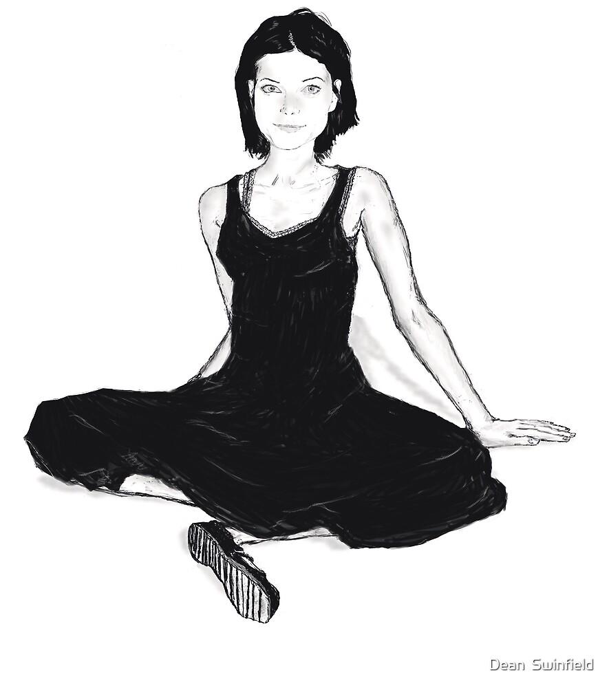 Goth Girl by Dean  Swinfield