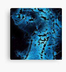Blue Flow by FreddiJr Canvas Print