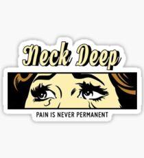 Neck Deep Sticker  Sticker