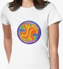 Bird Clan Mandala Womens Fitted T-Shirt