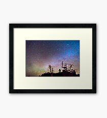 Starry Universe Framed Print