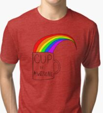 Cup Of Awesome Tri-blend T-Shirt