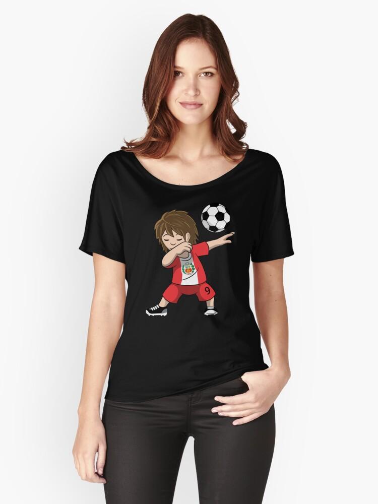 Peru Shirts - Peru Dabbing Boy Jersey - Men Women Youth T-shirt Gift Russia 3ebcda58a1
