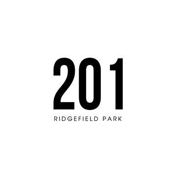 Ridgefield Park, NJ - 201 Area Code design by CartoCreative