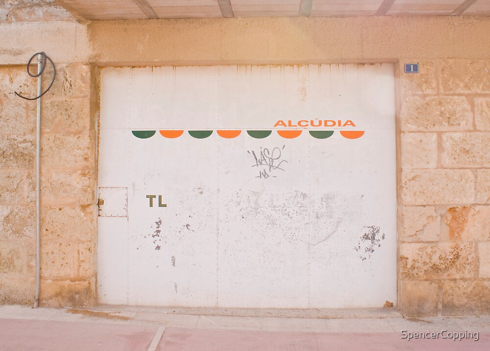 Facade in Alcudia by SpencerCopping