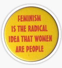 feminism yellow aesthetic tumblr sticker Sticker