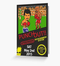 The fight of the century !!!!!! Greeting Card