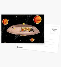 JUPITER 2 DEEP SPACE Postcards