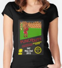 Floyd Mayweather Nintendo Punch out parody !!! Women's Fitted Scoop T-Shirt