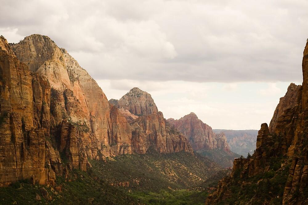 The Majestic Zion Canyon by Matthew Montgomery