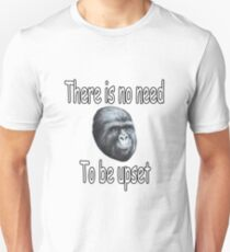 There is no need to be upset Unisex T-Shirt