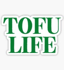 Tofu Life ~ Vegetarian Food Vegetables Sticker