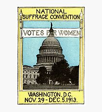 1913 Votes For Women Photographic Print