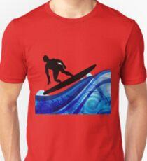 Blue Watersport Surf Unisex T-Shirt