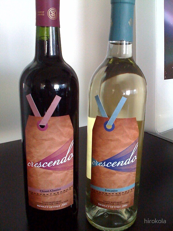 Wine Label by hirokola