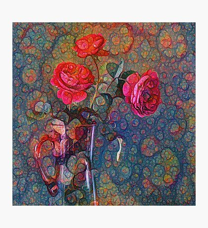 Roses #DeepDreamed Photographic Print