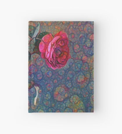 Roses #DeepDreamed Hardcover Journal