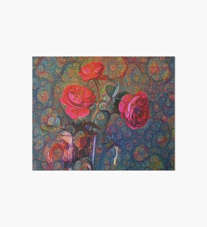Roses #DeepDreamed Art Board Print
