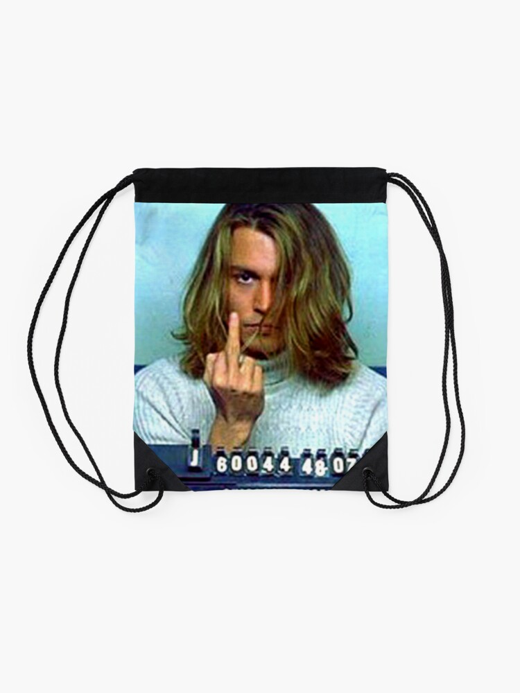 Alternate view of Caught Drawstring Bag