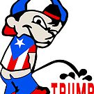 Puerto Rico Piss on Trump by EthosWear