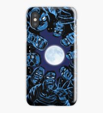moonlight zombies... iPhone Case/Skin