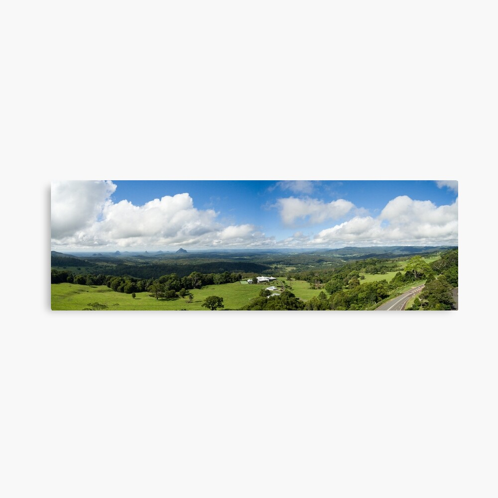 Glass House Mountains Canvas Print