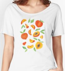 Peaches Women's Relaxed Fit T-Shirt