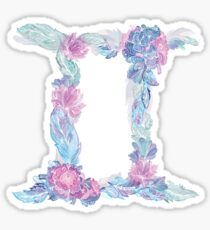 Gemini Zodiak Sign Sticker