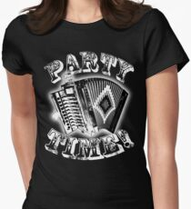 Party Time Cajun Style! Women's Fitted T-Shirt