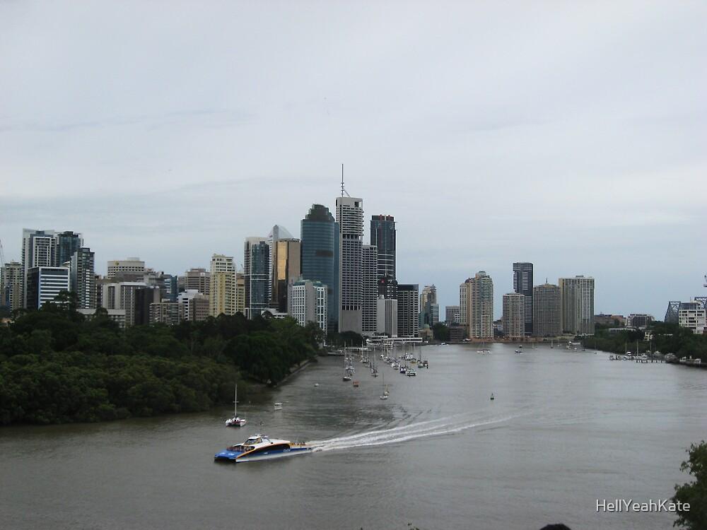 Brisbane by HellYeahKate