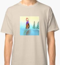 Woman in the Snow Classic T-Shirt