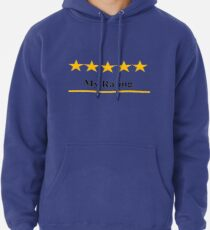 Five Star Rating Pullover Hoodie