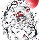 Wolf princess by Daisyart-lab
