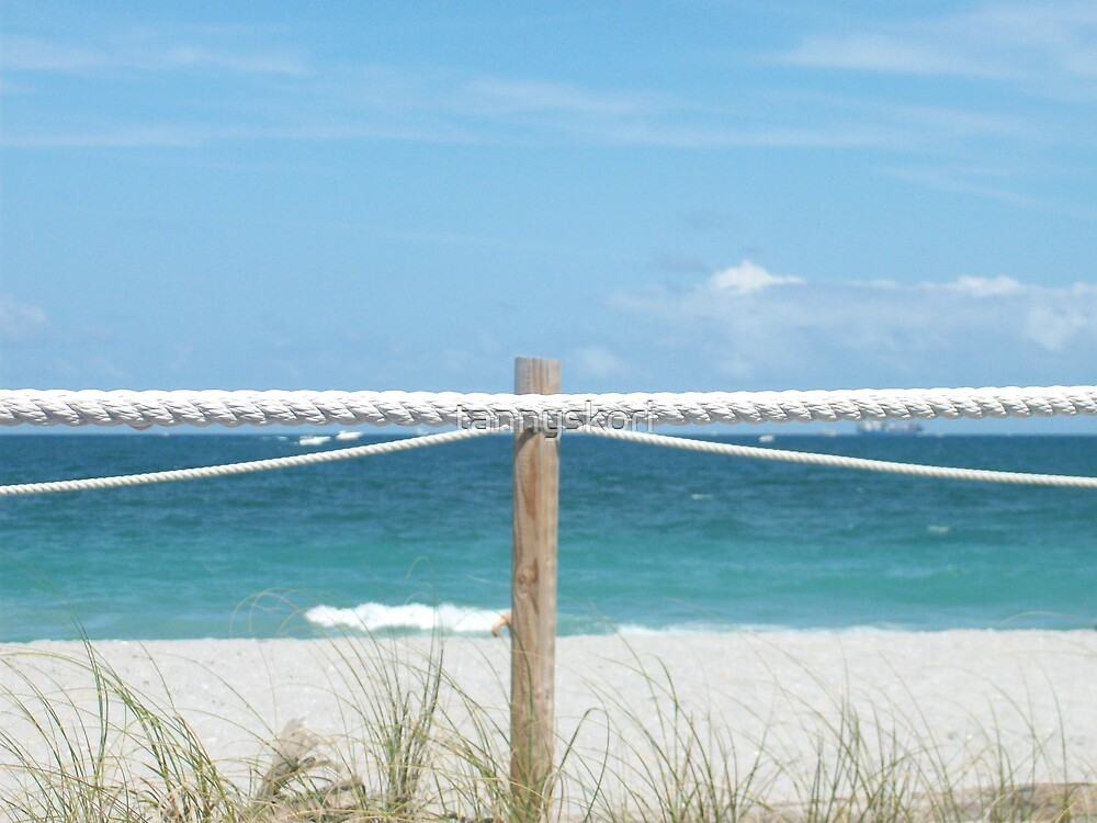 beach boundaries  by tannyskori