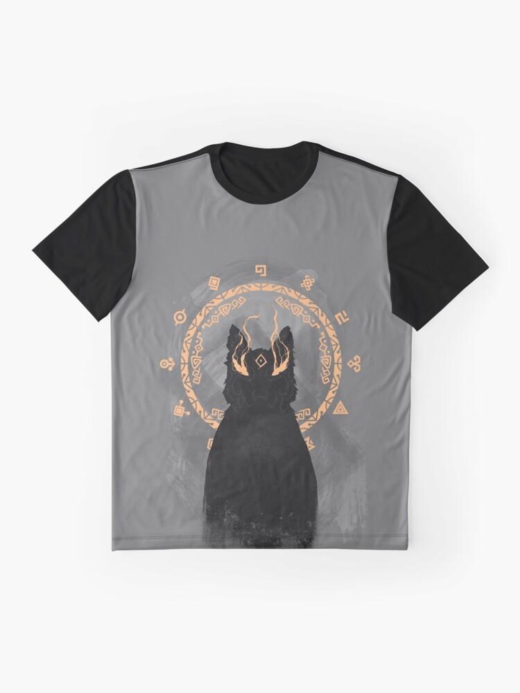 Alternative Ansicht von Wolf Link Grafik T-Shirt