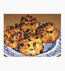 Oven Fresh - Tasty Rock Cakes Photographic Print