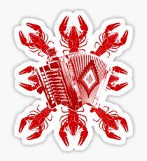 Cajun Music And Crawfish Sticker