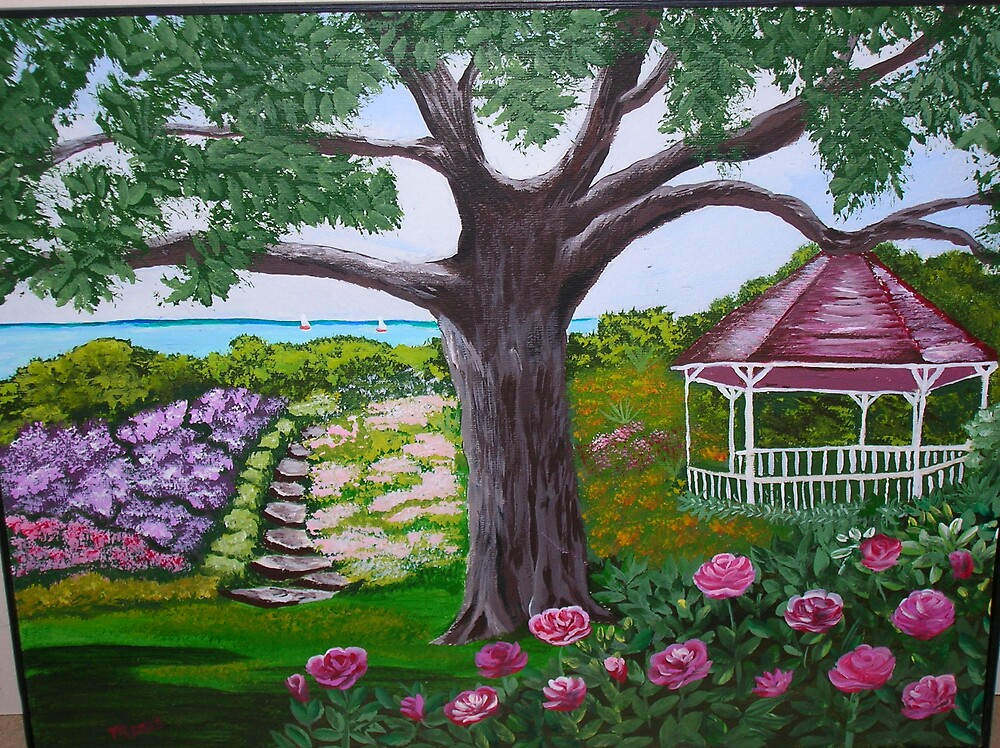 My garden paradise by Marie Dulny