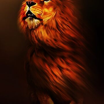 Lion by Cliff