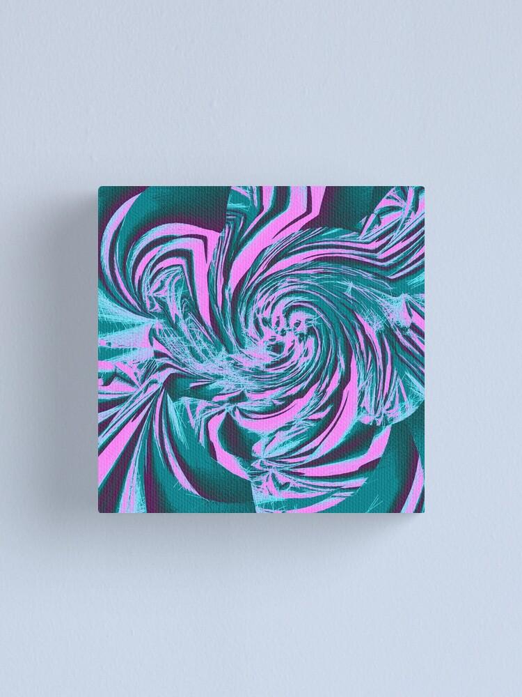 Alternate view of Abstract vortex Canvas Print